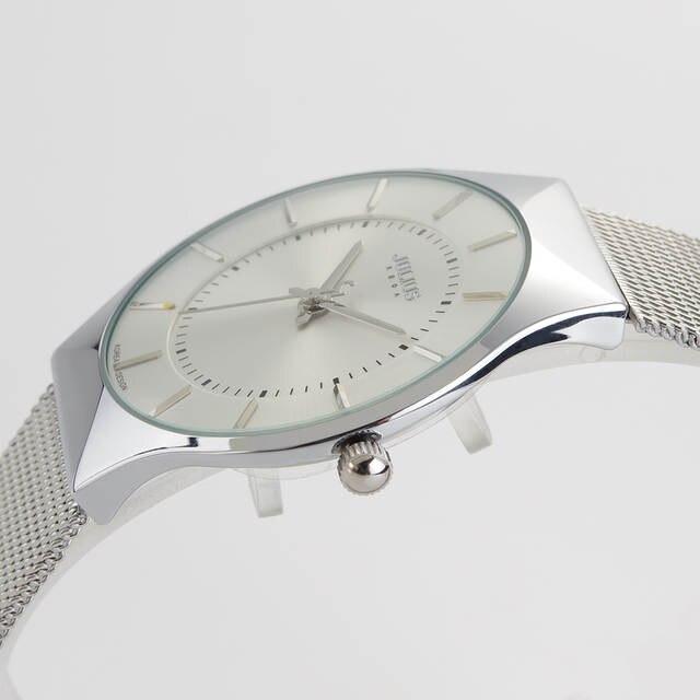 dca7416841f placeholder Top Brand Julius Men s Watches Stainless Steel Band Analog  Display Quartz Men Wrist watch Ultra Thin