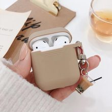 Milk tea pendant for AirPods protective cover Silicone soft wireless Bluetooth headset set personality female Cover anti-fall(China)