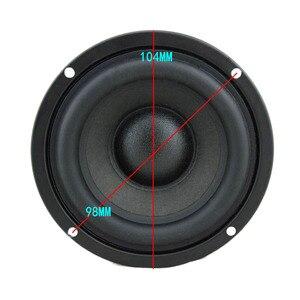 "Image 2 - Parlante de Audio Hifi de 4 "", 4ohm, 6ohm, 8Ohm, 30W, Subwoofer, altavoz de cuerno bajo, DSCS 3.5 01A de trompeta"