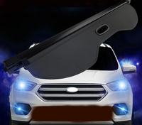 Rear Trunk Security Cargo Cover Shield Protective Shade For Ford Escape Kuga 2013 2014 2015 2016 Car Styling Accessories