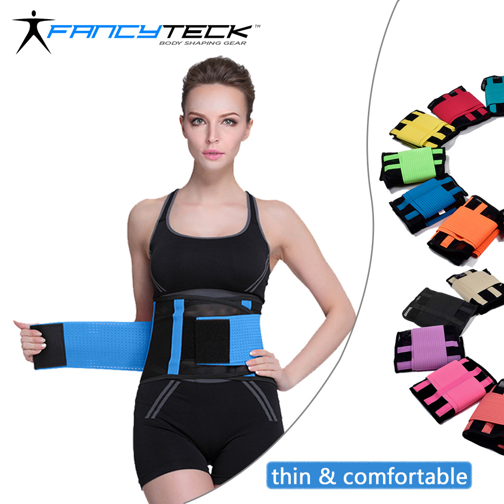 Fancyteck Women's Waist Trainer Belt Postpartum Belly Wrap Weight Loss Workout Fitness Slimmer Trimmer S M L XL XXL Body