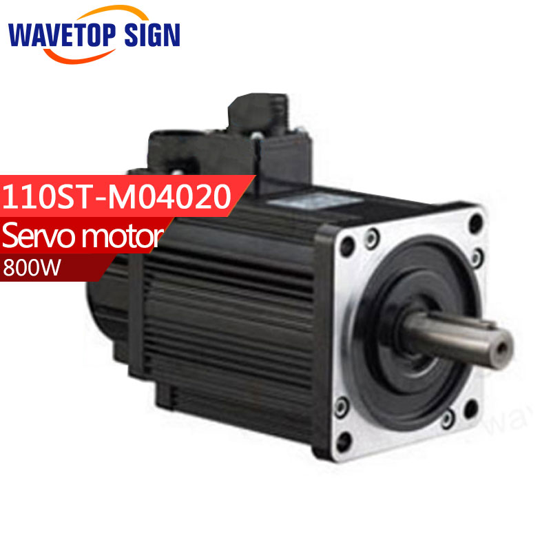 Servo motor 110ST-M04020/800w 4N.M /2000rpm servo motor sgmph01baa21 sgmph 01baa21
