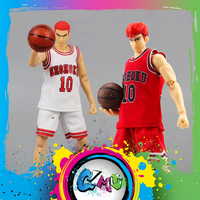 CMT Instock Dasin Model Slam Dunk Basketball #10 #11 #4 Hanamichi Sakuragi S.H.Figures S.H.F Action Figure Anime PVC Toys Figure