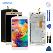 AICSRAD For homtom ht17 ht17 pro LCD Display +Touch Screen Digitizer Assembly Replacement Accessories ht 17 pro ht17pro +tools