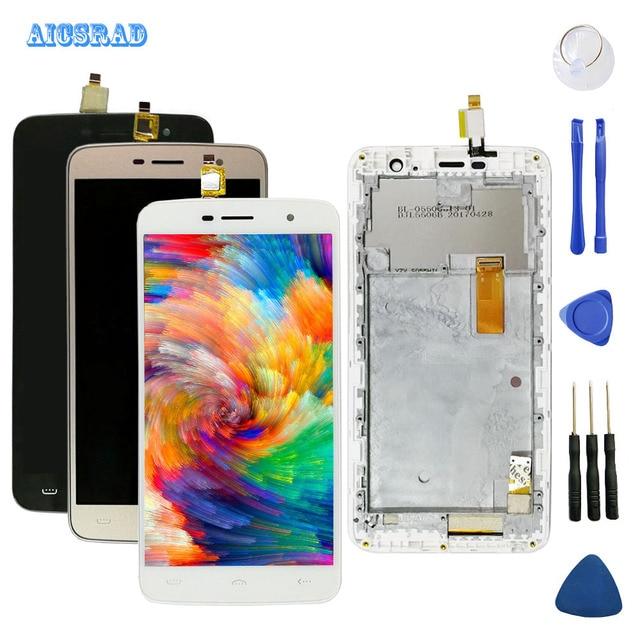AICSRAD para homtom ht17 ht17 pro pantalla LCD + MONTAJE DE digitalizador con pantalla táctil accesorios de repuesto ht 17 pro ht17pro + herramientas