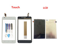 Black White Color 5.0 Inch For Huawei Ascend Y635 LCD Display With Touch Screen Digitizer Sensor With Tools Tape