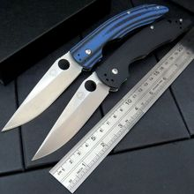 Custom Sea monster 58-59HRC D2 steel outdoor tool folding knife Camping knife + Orange G10 handle AAA+++