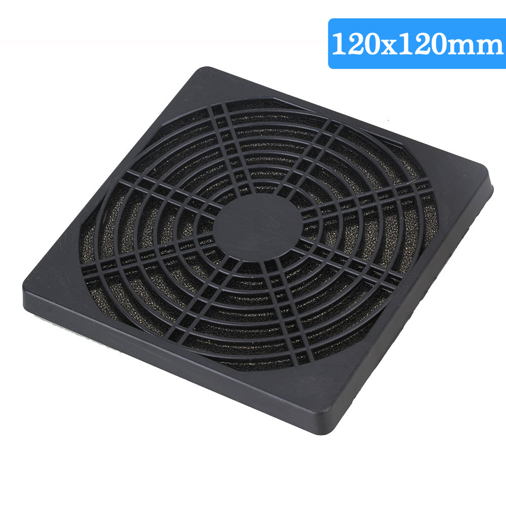 5pcs Dustproof 80mm Fan Protector Dust Washable Filter Cover Grill for Computer