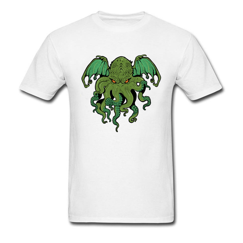 cthulhu 10992 Design ostern Day 100% Cotton Round Collar Mens Tees Summer Tee Shirt Family Short Sleeve T Shirts cthulhu 10992 white
