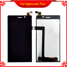 Original For Highscreen Thor Full LCD Display Touch Screen D