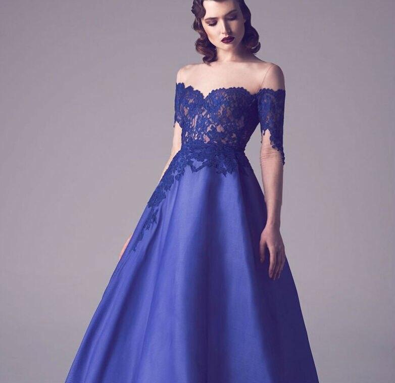 Aliexpress.com : Buy Satin Evening Gowns Abendkleid Rot Prom Dress ...