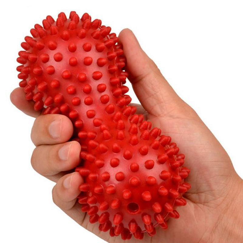 Peanut Massage Ball Spiky Trigger Point Relief Muscle Pain S