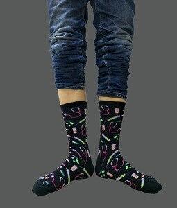 Image 5 - Cartoon Hospital Equipment Print Socks Medical Stethoscope Syringe Drug Men Cotton Sock Personalized Absorb Sweat Breathable