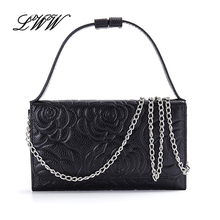 New Brand Genuine Leather Serpentine or Flowers Woman Handbag Lady Crossbody Bag Versatile Shoulder Bags