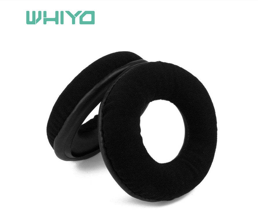 Whiyo1 pair of Sleeve Replacement Ear Pads Cushion Cover Earpads Pillow for Superlux <font><b>HD668B</b></font> HD681 HD681B HD662 Headphones image