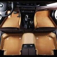 Waterproof Car Floor Leather Mats Front Rear Carpets Set for Mini Cooper F55 Hardtop 5 doors 2015 2016 2017 Interior Accessories