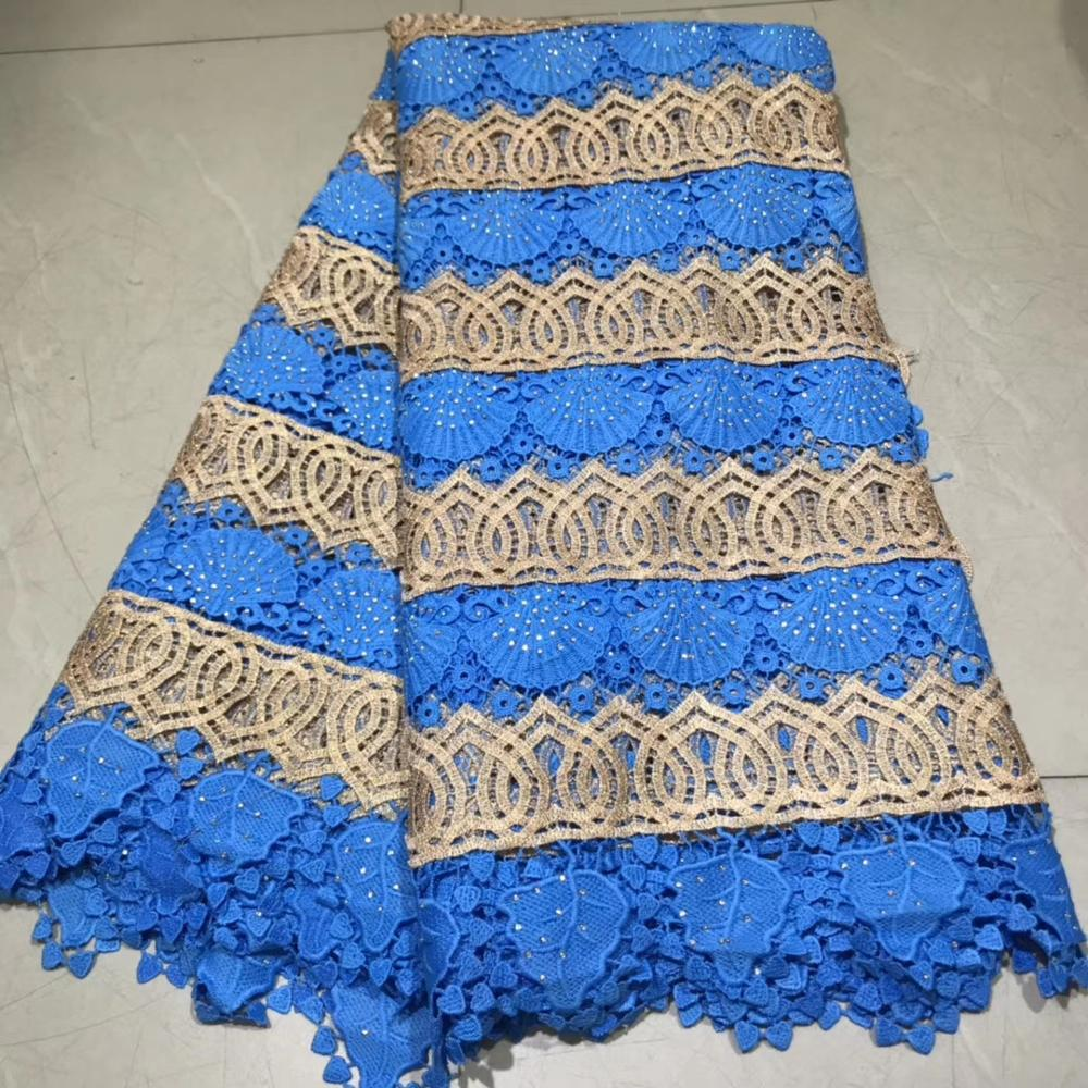 African water soluble  Lace High Quality African Guipure Lace Fabric With Stones Embroidered Lace Fabric For Party    NLYJUN032African water soluble  Lace High Quality African Guipure Lace Fabric With Stones Embroidered Lace Fabric For Party    NLYJUN032
