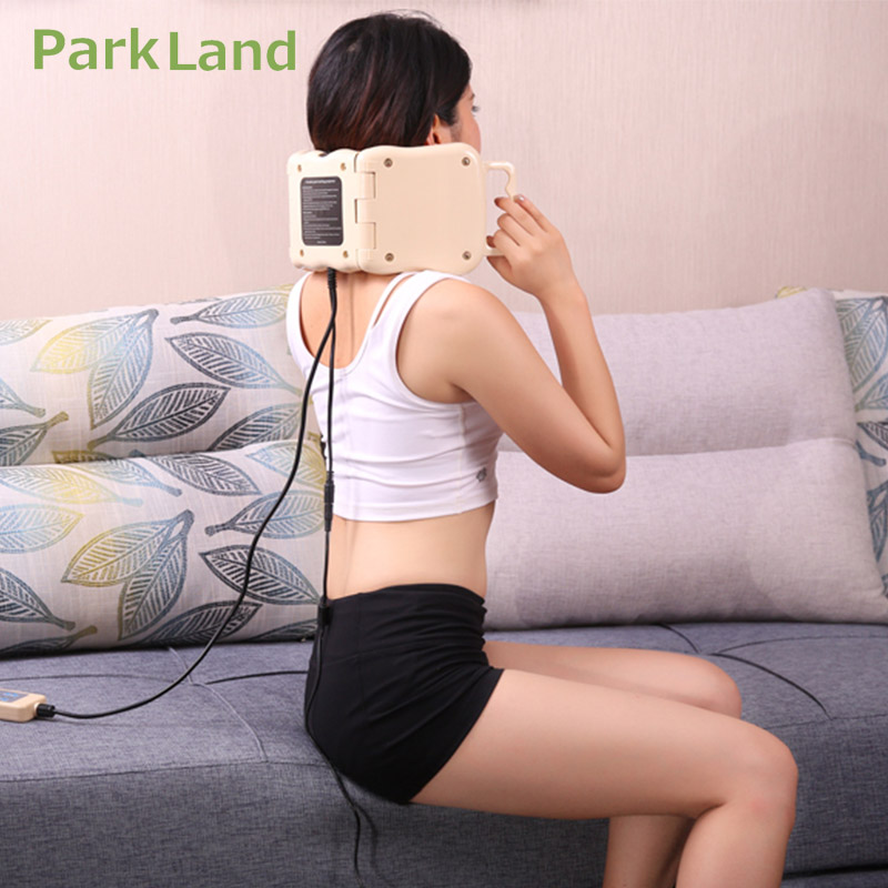 Park Land 11 Balls Tourmaline Infrared Ion Heater Massage Roller LED Photon Light Therapy Knee Device Body Pain Relief Projector