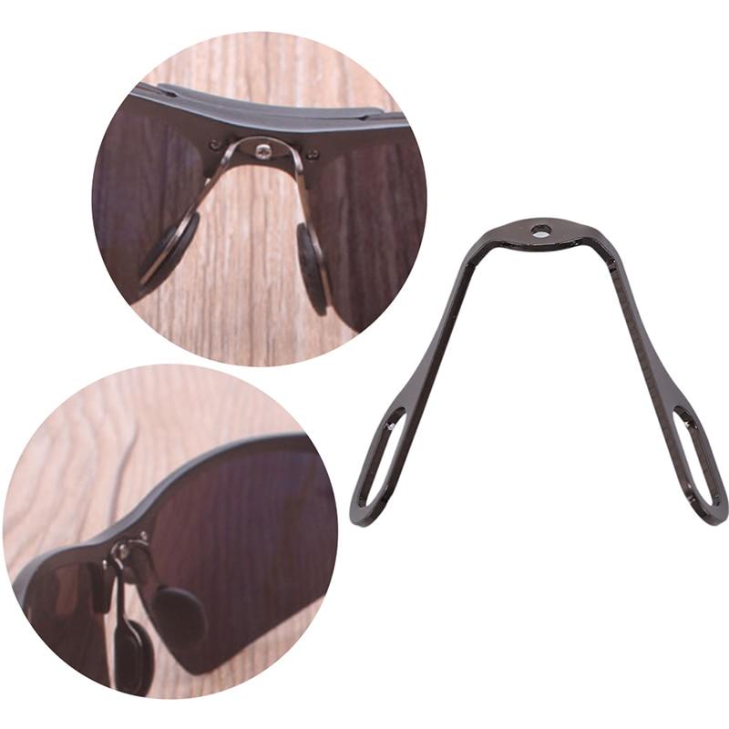 1 Satz Aluminium Nase Pads Arm Halter Rahmen Stecker Für Stahl Gläser Brillen Um Das KöRpergewicht Zu Reduzieren Und Das Leben Zu VerläNgern