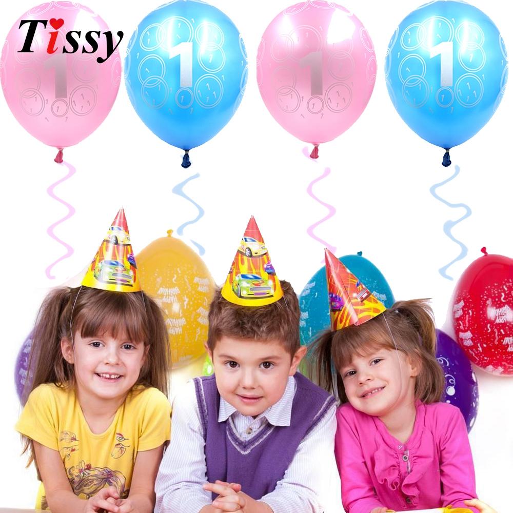 unids pulgadas globos para la primera fiesta de cumpleaos del beb boy u girl del beb ducha favorece nios ao de cumple