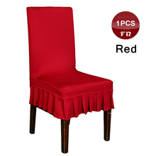 ฟรี 1PC Universal Spandex ยืด Lycra Decor เก้าอี้สำหรับจัดเลี้ยงงานแต่งงาน Hotel หน้าแรกห้องอาหาร