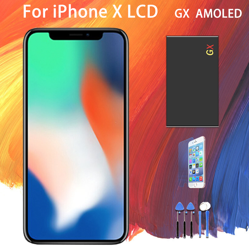 For iPhone GX X AMOLED Display Touch Screen shun long Assembly Replacement Display For iPhone X LCD Screen