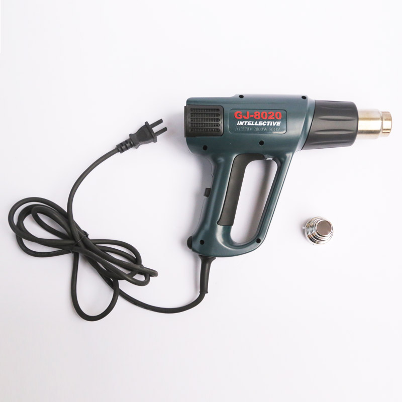 Heat Gun 2000w Ac 220v Lcd Digital Display Intelligence Debugging Temperature Heat Gun Hot Air Gun Welding Tools Gongjue 10pcs lot 220v 2000w hot air gun powerful mini hand tools lcd temp adjustable heat gun 2nozzles for soldering and welding 8920e