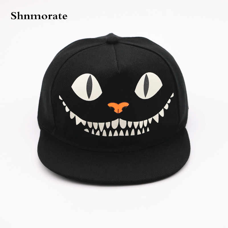Noctilucent Pumpkin Head Adjustable Casual Baseball Cap Men&Women Snapback Casquette Unisex Hat Sport Gorras Hombre Outdoor Caps