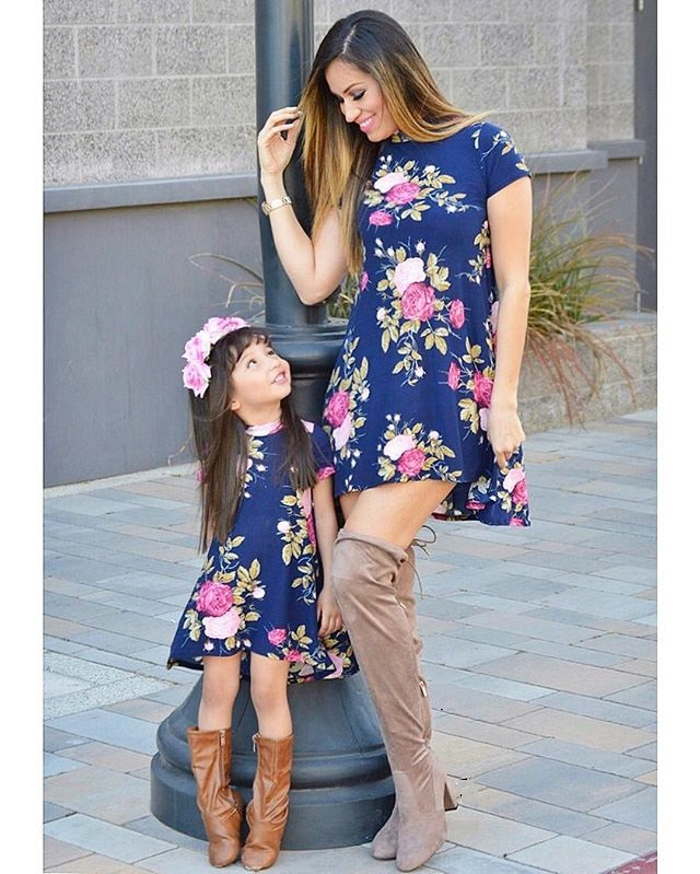 mother daughter dresses family look mommy and me clothes mom and daughter dress matching outfits mother and daughter clothes telle mère telle fille vetement
