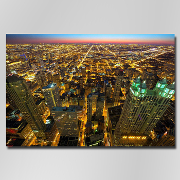 diamond painting 5D scenery Chicago Skyline chicago cubs decor home diamond painting full drill Diamond Embroidery image
