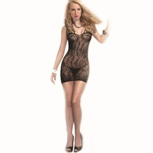 6 pieces/lot Jacquard sex underwear sexy conjoined nightgown WQ6041 #