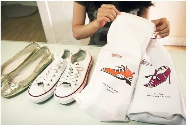 Freeshipping!!Wholesale,New Creative Travel storage bag/Shoes storage bag