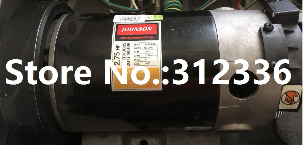 Fast Shipping JM01-018 DC motor for treadmill Johnson model T5000 fast shipping 5hp dc motor suit for treadmill model universal motor