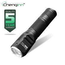 Mini penlight Waterproof Flashlight Torch 3 Modes 260LM Zoomable Focus Lantern Portable Light 18650 Rechargeable Led Lamp