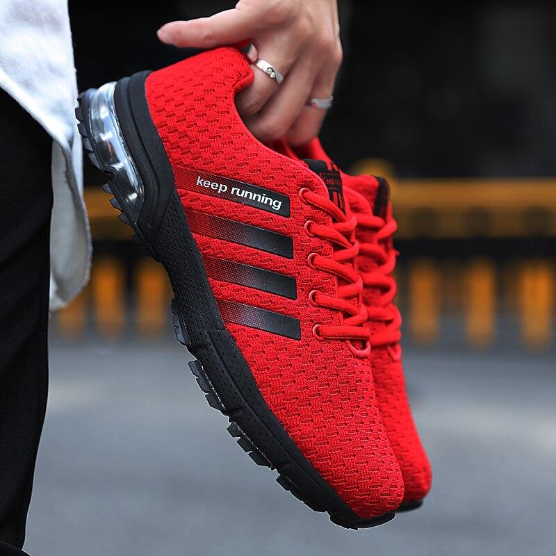 Casual Shoes Men Air Cushion Walking Plus Size 35-48 Male Breathable Comfortable Men Sneakers Anti-Slip Fashion Footwear Sock