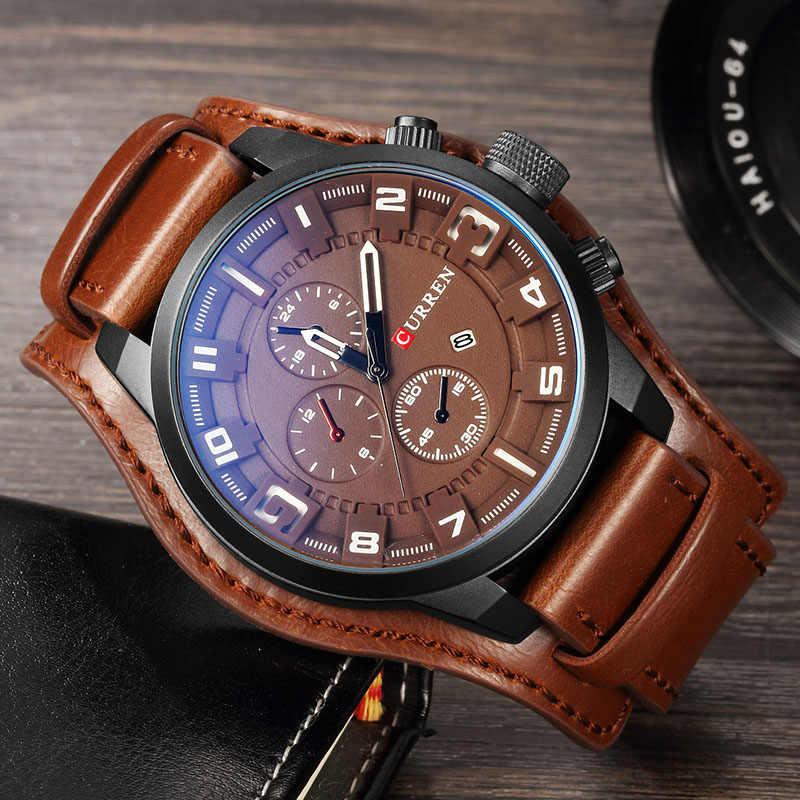 Элитные мужские часы Curren 8225 в Рудном