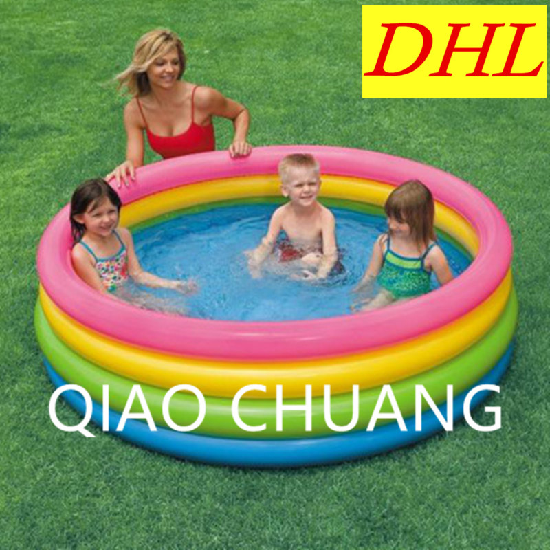 Creative Oversized Sea Ball Pool Fluorescence Tetracycline Round Thicken PVC Baby Inflatable Swimming Pool Paddling Pool G969 inflatable swimming pool outdoor toys large scale baby swimming pool sea ball pool thicken children paddling pools g952