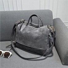 2016 New Arrive Women's Shoulder Bag Nubuck Leather Vintage Messenger Bag Motorcycle Shoulder Bags Women's Bag