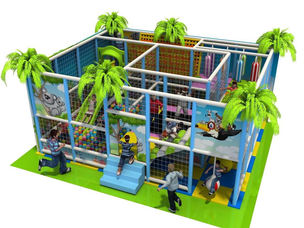 YLW CE a approuvé le système de jeu mou d'intérieur d'usine d'or d'équipement de terrain de jeu d'enfants de supermarché
