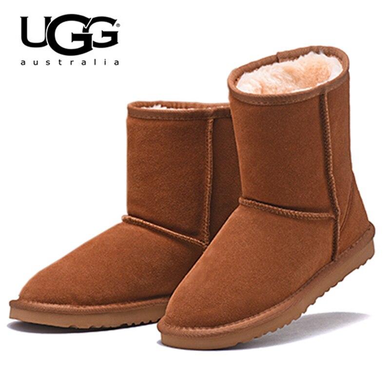 Uggs australie bottes femmes UGG bottes 5825 femmes Uggs chaussures de neige bottes d'hiver UGG femmes classique court en peau de mouton botte de neige