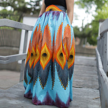 86b69f811 Buy peacock pleated skirt and get free shipping on AliExpress.com
