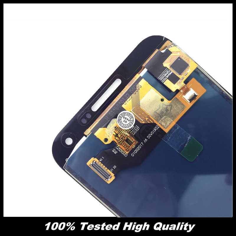 100% اختبار E500 شاشات lcd لسامسونج غالاكسي E5 E500 E500F E500H E500M شاشة هاتف LCD شاشة محول الأرقام اللمس الجمعية استبدال