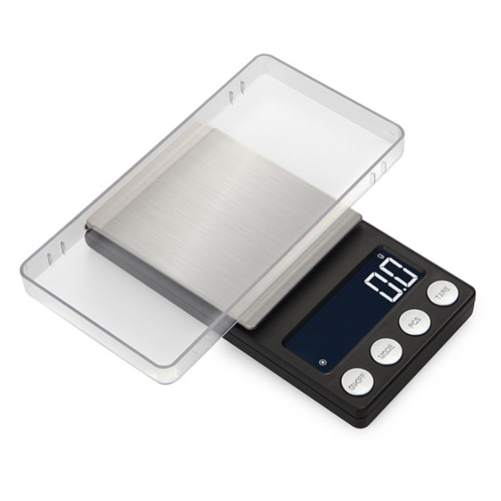 200g 300g 500g 0 01g Mini Digital Scales Pocket Jewelry Scales High Precision Electronic Balance Weight Balanca Digital Scale in Weighing Scales from Tools