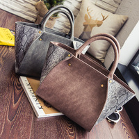 2017 Autumn Fashion New Lady Handbag Shoulder Bag Trend In Europe And America Snake Wings Vintage