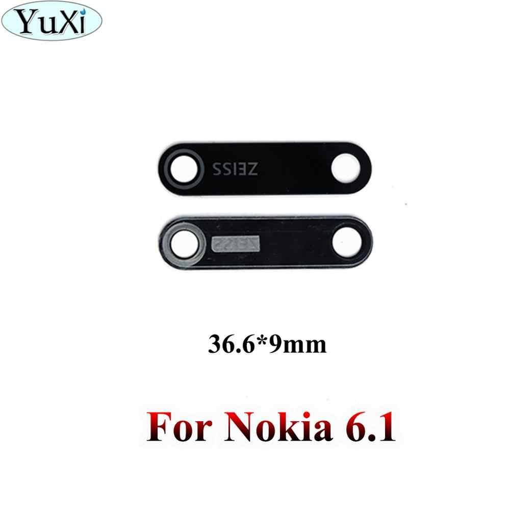 YuXi เลนส์ฝาครอบเลนส์ด้านหลังสำหรับ Nokia 5 6 8X5X6X7 3 6.1 7 Plus สำหรับ Nokia Lumia 950 950XL1520 พร้อม Ahesive สติกเกอร์