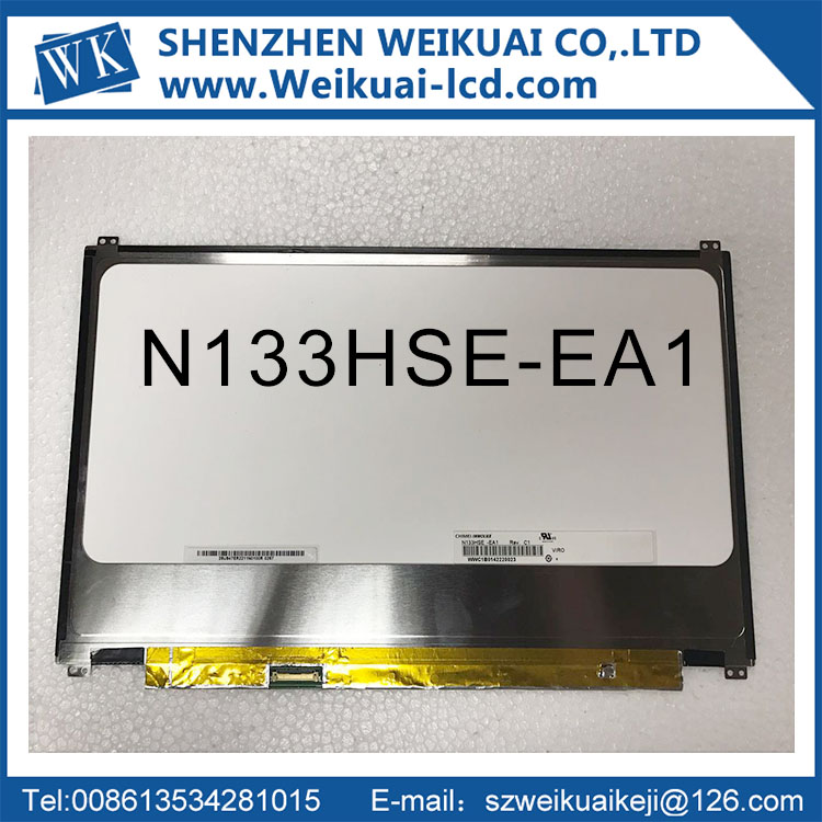 Free Shipping N133HSE-EA1 N133HSE-EA3 1920*1080 eDP 30pin For asus UX32 UX32VD UX31 UX31A UltraBook Laptop LCD Slim LED screen 17 3 laptop lcd screen led backlight 30 pin fit for asus g74sx a1 n173hge e11 acerv3 772g 1920 1080