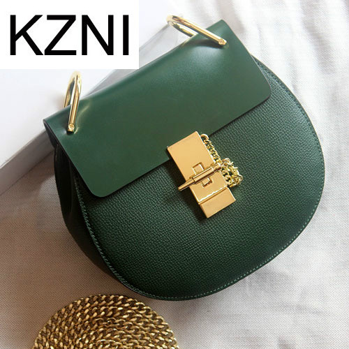 KZNI Genuine Leather Purse Crossbody Shoulder Women Bag Clutch Female Handbags Sac a Main Femme De Marque L011305 hobos bags handbags women famous brand female high quality leather shoulder bag women crossbody bag sac a main femme de marque