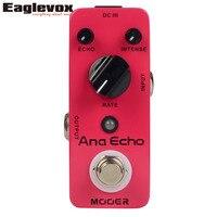 MOOER Ana Echo Analog Delay Mini Guitar Effects Pedal True Bypass