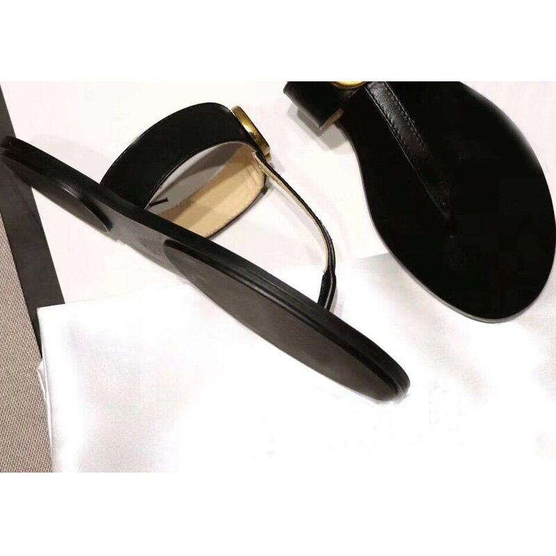 Tongs Femmes Slipers Filles Femme Plage Liège Mode Appartements Chaussures En Décontractées Babouches Sandales Pour 2019 Diapositives D'été Accueil 5wBTX7q
