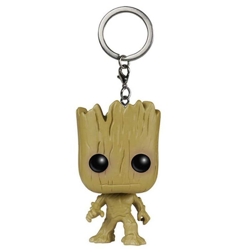 Elsadou Movie Guardians of the Galaxy Tree Man Standing Action Figure Doll Toy